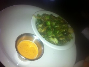 Stueben's Crispy Brusselsprouts