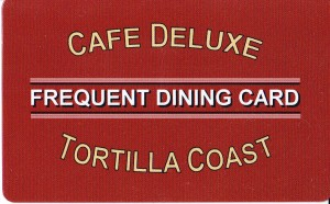 tortilla coast frequent diners card